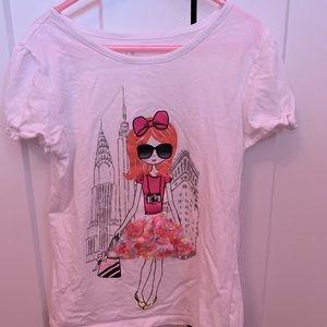 🌸 2/12$ Tee Shirt Girls L